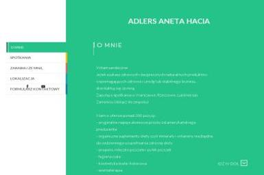 Adlers Aneta Hacia - Agencja marketingowa Krynice