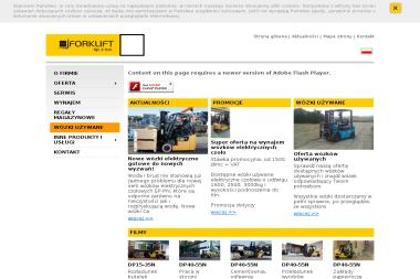 Systemy Logistyki Magazynowej - Wózki widłowe Miękinia