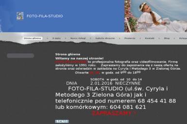 Foto-Fila-Studio - Fotografia Ślubna Zielona Góra