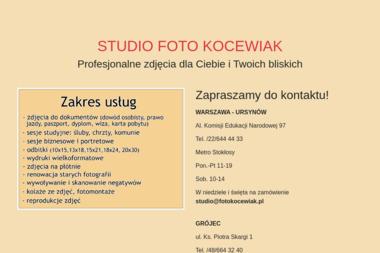 Studio Foto Kocewiak - Usługi Fotograficzne Grójec