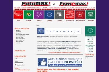 Fotomax. Studio i Laboratorium Fotograficzne Jerzy Szymanek. Chrzest, foto - Fotograf Olsztyn