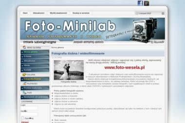 Foto-Minilab. Fotografia Ślubna i Wideofilmowanie. - Kamerzysta Sucha Beskidzka