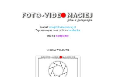 Foto Video Maciej. Wideofilmowanie, videofilmowanie - Wideofilmowanie Rudno