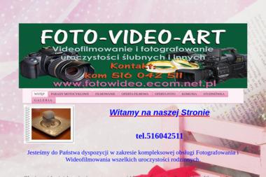 Foto-Video-Art. Fotografia, wideofilmowanie - Wideofilmowanie Wałbrzych