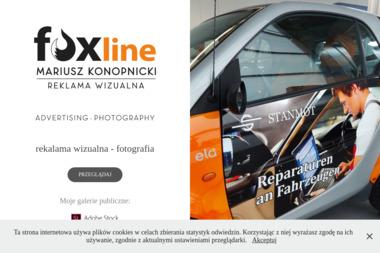 Foxline Reklama Wizualna Mariusz Konopnicki. Tablice reklamowe, szyldy reklamowe - Agencja marketingowa Gryfino