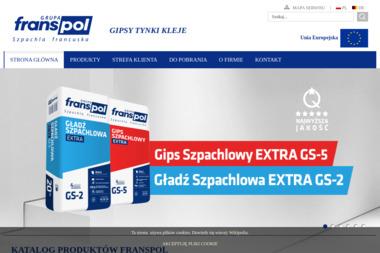 Franspol - Producent Białych Gipsów I Gładzi - Skład budowlany Konin