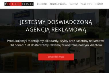 FreeBoard. Reklama, billboardy - Drukarnia Wałbrzych