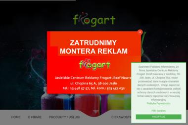 Jasielskie Centrum Reklamy Frogart - Poligrafia Jasło