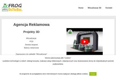 Frog On The Box Krzysztof Frazik - Firma Reklamowa Człuchów