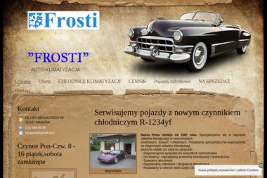 Frosti. Auto-Klimatyzacja - Klimatyzacja Samochodowa Kraków