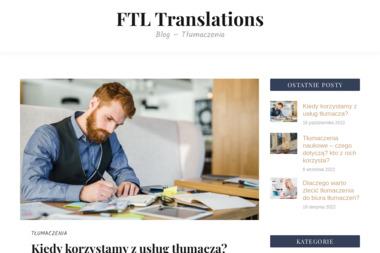 FTL Translations. Tłumaczenia - Tłumacze Krasnystaw