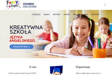 Funny English Szkoła Języka Angielskiego - Nauczyciele angielskiego Staszów