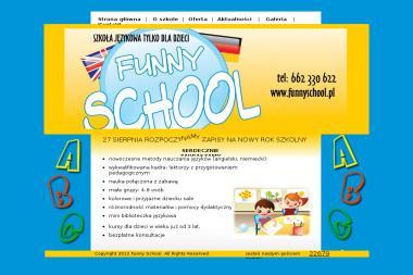 Funny School Centrum Nauczania Języków Obcych Marta Krauze Nowakowska - Język Angielski Radom