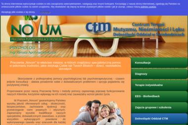 Pracownia Psychostymulacji i Rozwoju Novum Diagnoza Terapia Szkolenia Artur Kozar - Psycholog Świebodzice