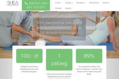 Gabinet Fizjoterapii i Masażu Shea. Rehabilitacja, fizjoterapia, masaż - Rehabilitant Wrocław
