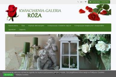 Kwiaciarnia Galeria Róża Kwiaty, artykuły dekoracyjne - Kosze prezentowe Szprotawa
