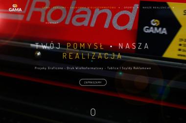 Gama Centrum Reklamy Adam Drzymkowski - Kampanie Reklamowe Ełk