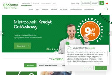 Gospodarczy Bank Spółdzielczy w Barlinku Oddział w Myśliborzu - Kredyt Myślibórz