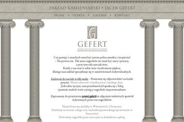 Gefert Daniel - Zakład Kamieniarski Witoszyn