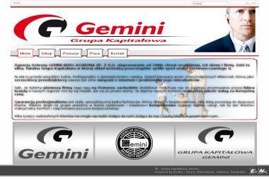Agencja Ochrony Gemini Sp. z o.o. - Firma Ochroniarska Szczecin