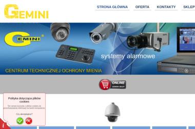 Gemini. Centrum technicznej ochrony mienia - Agencja ochrony Rzeszów