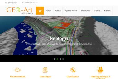 Geo-Art Geotechnika - Geolodzy Łomna-Las