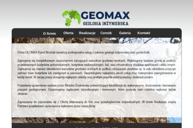Geomax Kamil Wroński - Geologia Inżynierska Kraków