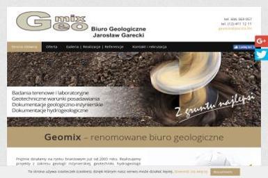Geomix. Biuro Geologiczne Jarosław Garecki - Badanie Geotechniczne Kraków