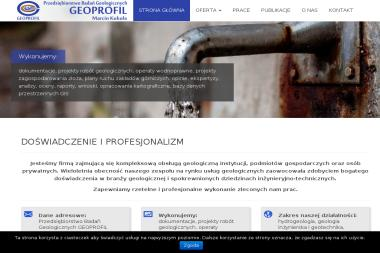 Przedsiębiorstwo Badań Geologicznych Geoprofil Sp. z o. o. - Geolog Kraków
