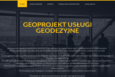 Geoprojekt - Gdańsk Sp. z o.o. - Geolog Gdańsk