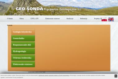 GEO-SONDA Pracownia Geologiczna S.C. - Firma Geodezyjna Łódź