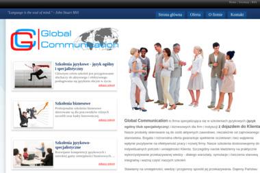 Monika Sobina Maruszczak Global Communication Firma Szkoleniowo Konsultingowa - Szkoła językowa Olsztyn