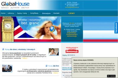 Global House - Szkoła języków obcych - Szkoła Języka Niemieckiego Poznań