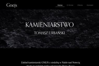 Gnejs Kamieniarstwo Nagrobkowe Budowlane - Nagrobki Nakło nad Notecią
