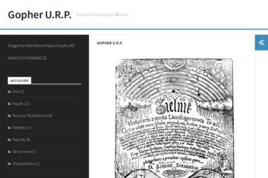 Gopher U.R.P. - Ulotki Lublin