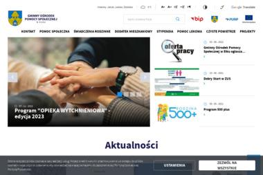 Gminny Ośrodek Pomocy Społecznej - Pomoc domowa Ełk