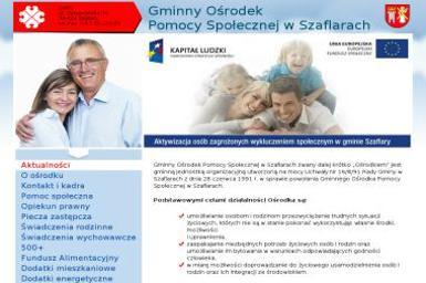 Gminny Ośrodek Pomocy Społecznej - Pomoc domowa Szaflary