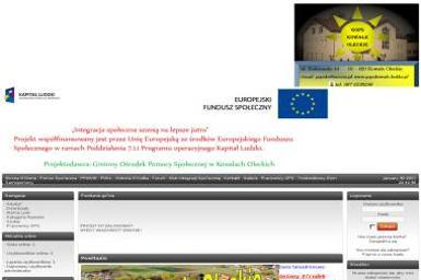 Gminny Ośrodek Pomocy Społecznej - Pomoc w Pracach Domowych Kowale Oleckie