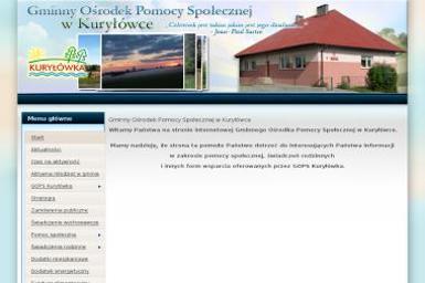 Gminny Ośrodek Pomocy Społecznej - Pomoc domowa Kuryłówka