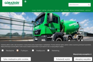 Górażdże Beton - Betoniarnia Opole 2 - Wylewka Samopoziomująca Opole