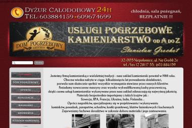 PPUH Granit Stanisław Grochot - Nagrobki Niepołomice