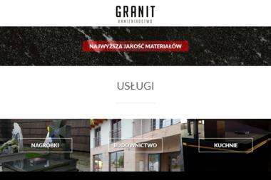 Sięka Jan PPHU Granit - Schody Nowy Targ