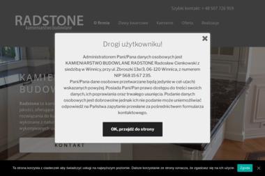 Kamieniarstwo Budowlane Radstone - Blaty kamienne Zbroszki