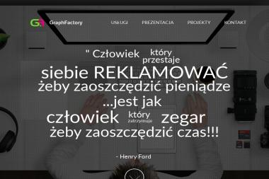 Mateusz Majewski Graph Factory Studio Reklamy - Agencja marketingowa Gryfice