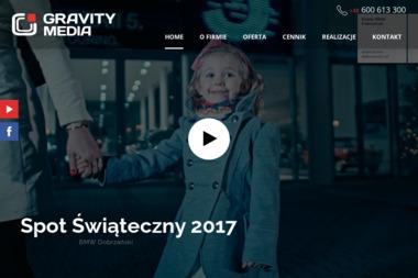 Gravity Media s.c. - przyciągamy uwagę - reklama telebimy, ekrany LCD - Agencja marketingowa Rupniów