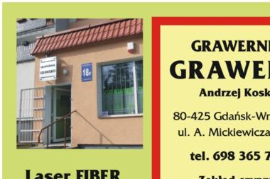 Grawero - Andrzej Kosko - Piaskowanie Gdańsk