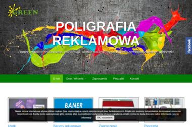 Green poligrafia reklamowa, wizytówki, ulotki - Ulotki Łęczyca