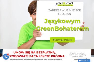 Green School. Szkoła Języków Obcych. Agnieszka Worwąg - Kurs francuskiego Kłobuck