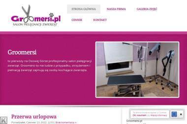 Groomersi. Groomer, psi fryzjer - Usługi kosmetyczne i fryzjerskie Bydgoszcz