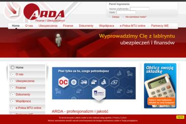 Arda Sp. z o.o. Spółka Komandytowa - Ubezpieczenia na życie Rzeszów